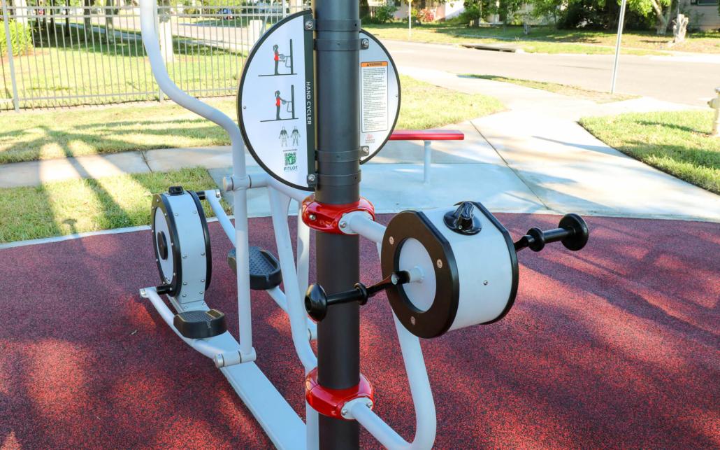 close up of adjustable equipment