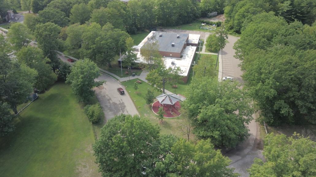 AARP Sponsored FitLot Outdoor Fitness Park in Burlington, Vermont