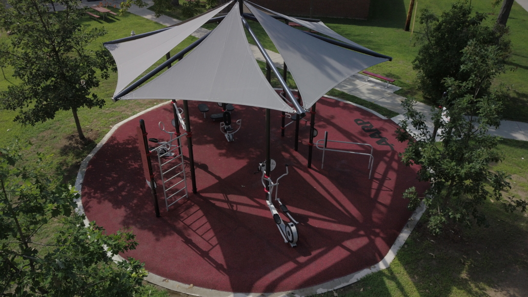 AARP Sponsored FitLot Outdoor Fitness Park in Burlington, Vermont