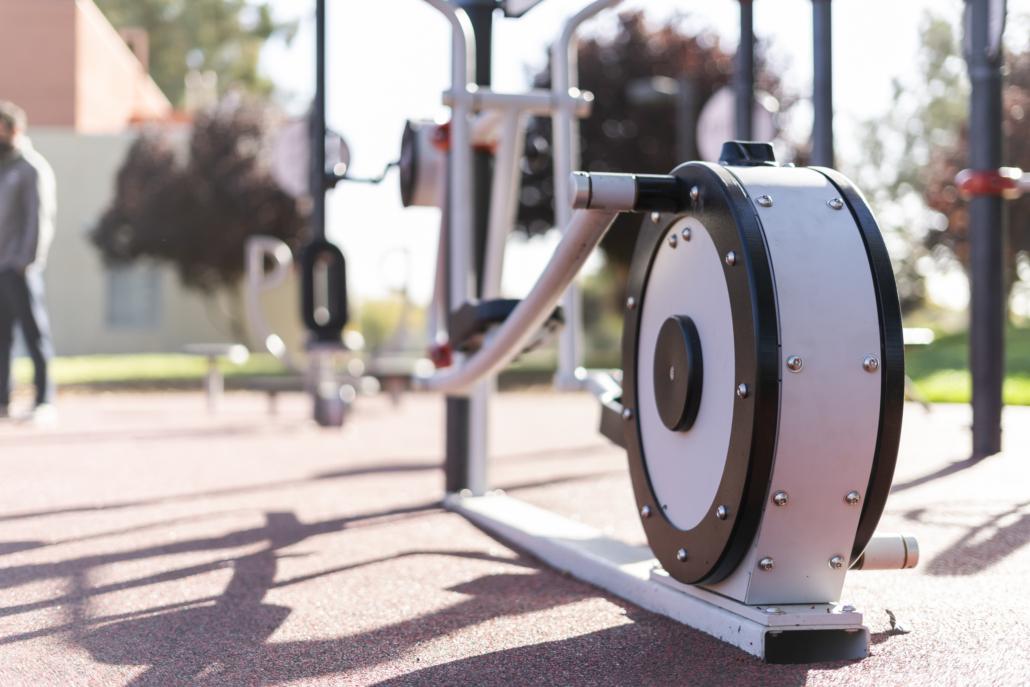 Sacramento FitLot Outdoor Fitness Park
